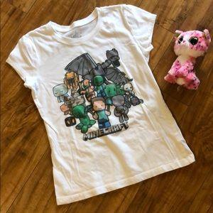 Justice Minecraft shirt